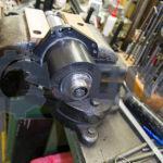Ротор с передней опорой в тисках
